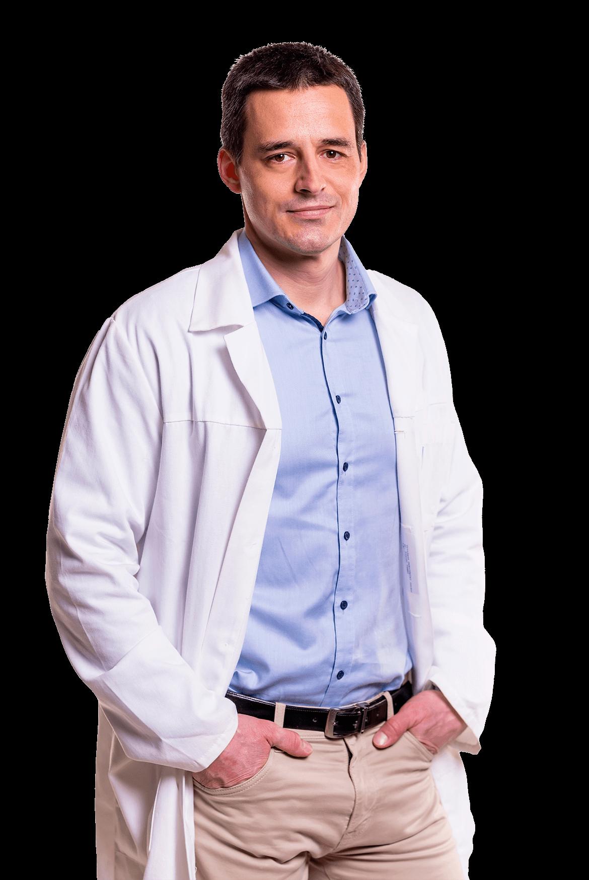 Dr. Pintér Tamás onkológus adjunktus